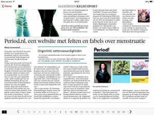 paula period haarlems dagblad