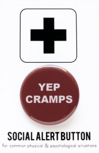 yep cramps button