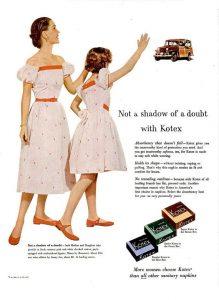 1953 kotex add